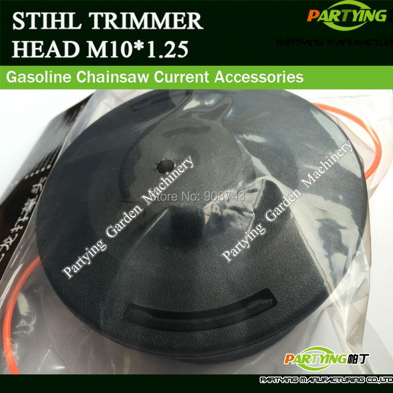 Adaptor M10*1.25 Replacement Trimmer Heads Fit FS90 FS100 FS110 FS130 FS250 FS56 Brush Cutter комплектующие к инструментам paradise 25 2 fs90 fs100 fs110 fs130 fs250 fs56 606355019