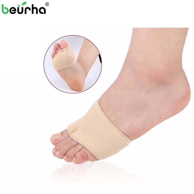 1 Para Silikonhülle Schmerzhaft Mittelfuß Köpfe Morton Neuromas Atrophie Pad Flache Splay Fuß Druckentlastung Schwielen Fußpflege Auswahlmaterialien Schönheit & Gesundheit