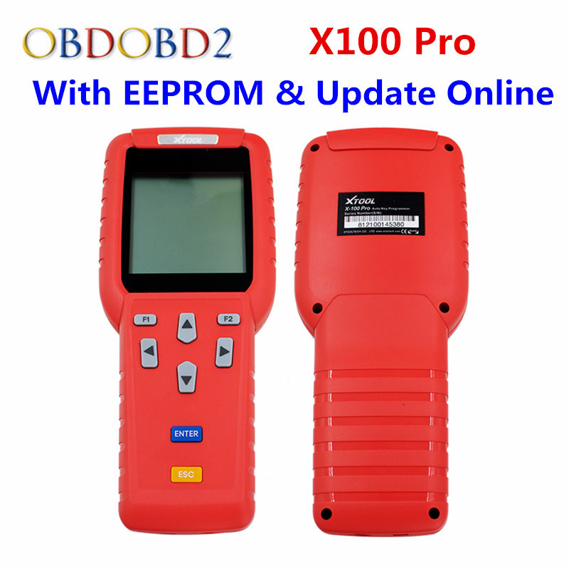 XTool X 100 X100 Pro Auto Key Programmer (C+D+E) Including EEPROM Adapter For IMMO+Odometer+OBD+EEPROM X100 Pro Update Online original xtool x100 pro auto key programmer x100 updated version x 100 programmer x 100 key programmer update online