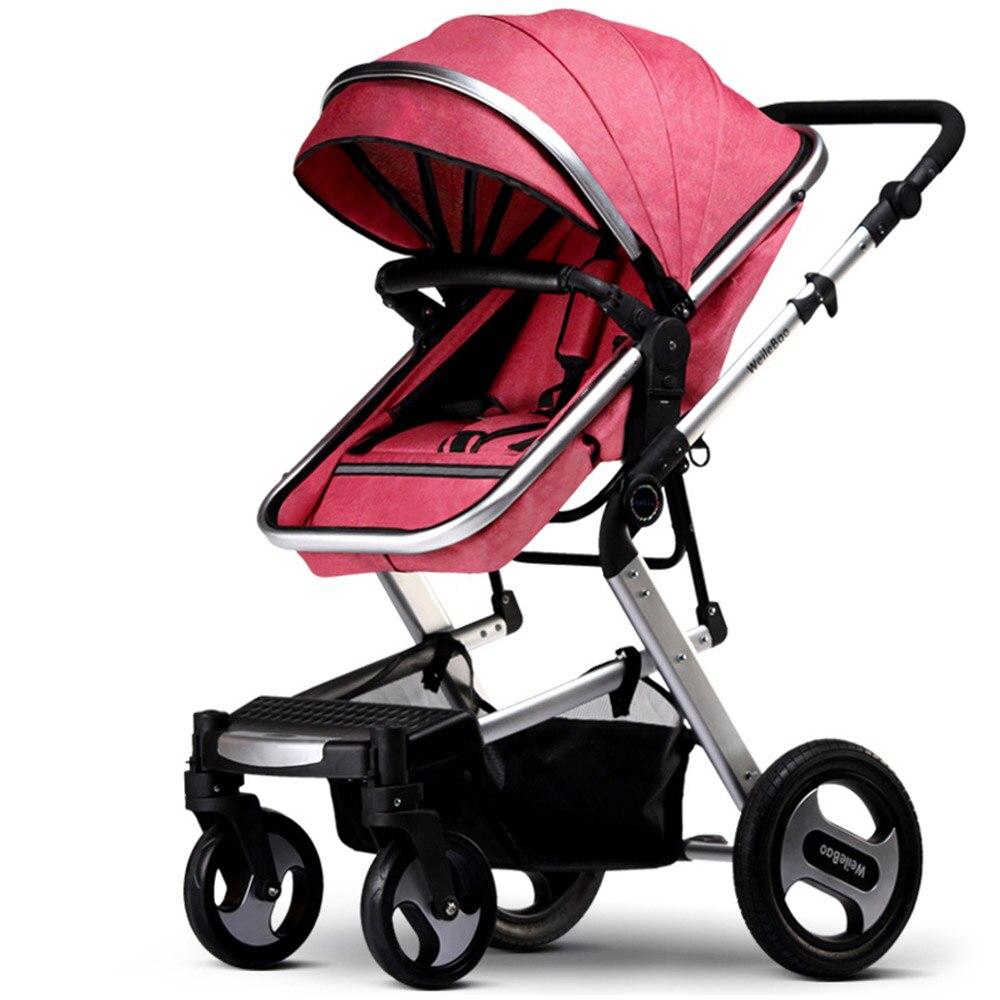 KUBEEN & Baby Bum luxe bébé poussette 2 en 1 chariot haut paysage landau Suite pour couché et assise sur 2019
