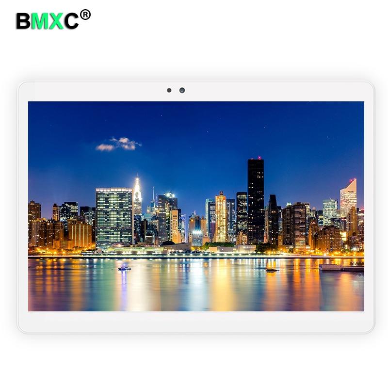 BMXC original Tablet PC 4G Phablet 4GB ROM 64GB RAM Octa Core MTK8752 1920*1200 IPS Phone Call SNS gogle play DHL Free Shipping vernee m6 4g phablet