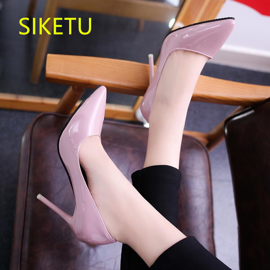 SIKETU 2017 Free shipping Spring and autumn Women shoes High heels shoes Wedding shoes Party pumps g429 siketu 2017 free shipping spring and autumn women shoes sex high heels shoes wedding shoes sweet lovely pumps g126