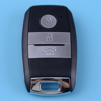 DWCX Car Smart Remote Key Control Fob Uncut 3 Buttons 433mhz ID46 Keyless Entry Fit for Kia K5 Sportage Sorento