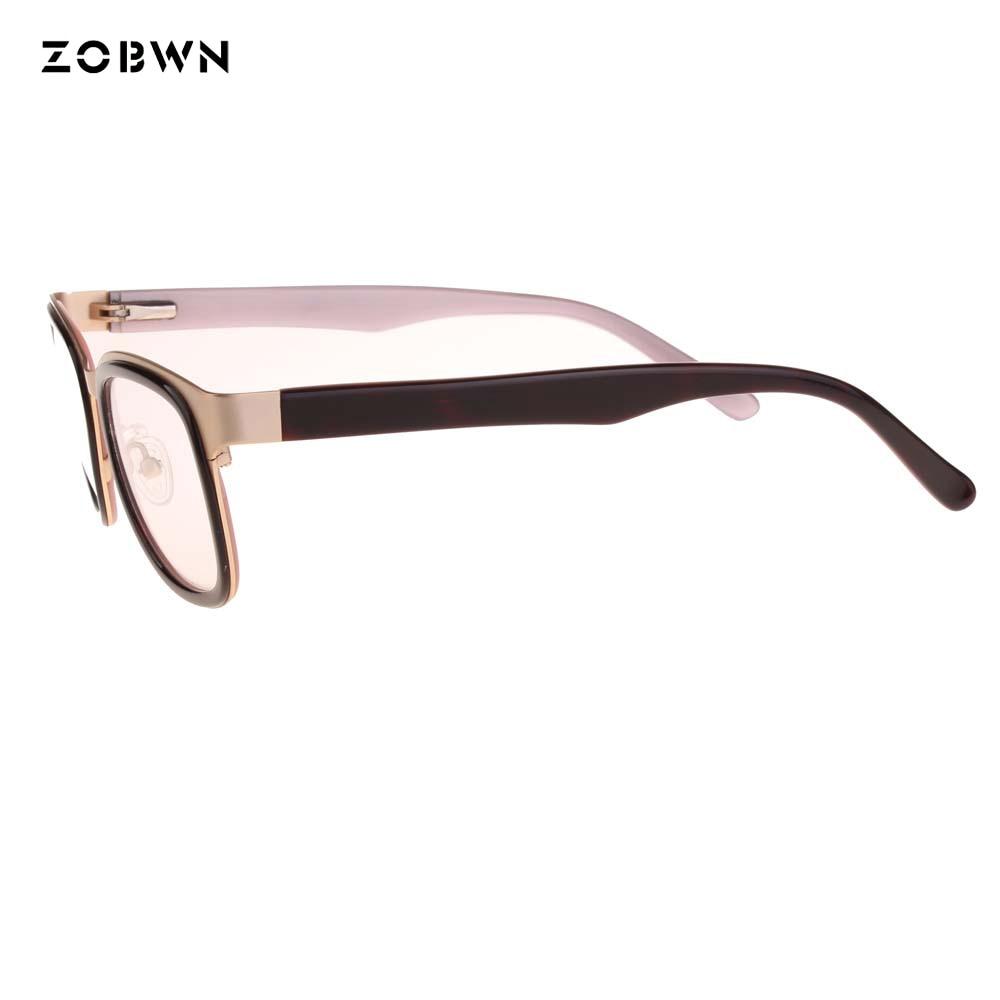 8afe3e465c ZOBWN Eyeglasses optical glasses oculos spectacle frame eyeglasses frame  eye glasses frames men women clear lenses glasses frame-in Eyewear Frames  from ...