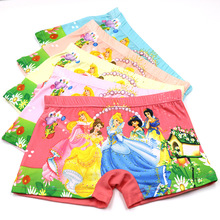 5pcs/Lot Cute Children Kids Girls Underwear Fashion Boxer Brief Infant Baby Girl Panties fashion children underpants for 2-8Y