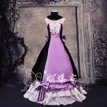 vocaloid HOSHI SAGA DOKURINGO luka Party Lolita Full Dress Skirt Cosplay  Costume Any Size Free Shipping 7aac54c11544