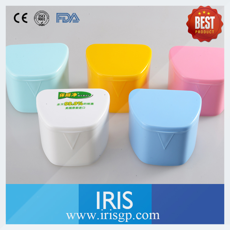 10 Pieces Plastic Denture Bath Box Case Dental False Teeth Appliance Container Storage Boxes Dentures Cleaner SAO Box купить