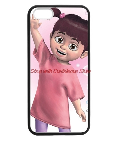 Monsters Inc Boo phone case for iPhone 4s 5s 5c 6 6s Plus iPod touch 4 5 6 Samsung Galaxy s2 s3 s4 s5 mini s6 edge note 2 3 4 5