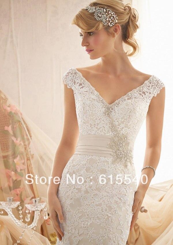 Vestidos cortos de la boda reino unido lino vestido de encaje de ...