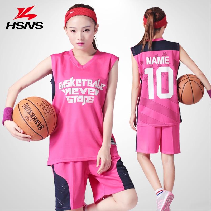Džersio šortai 2PCS krepšinio apranga Moterų komplektas 10 - Sportinė apranga ir aksesuarai