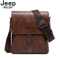 Men Bag JEEP BULUO Famous Brand Corssbody Shoulder Bags For Ipad Business Casual Male Tote Briefcases