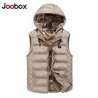 JOOBOX Brand 2017 New Men Sleeveless Jacket Winter Ultralight White Duck Down Vest Male Slim Vest