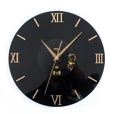 Hot Creative CD Vinyl Record Wall Clock Classic Home Decor Clock vintage 3D nostalgic three-dimensional wall clock