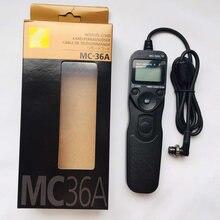 Nova MC-36A MC36A MC-36 Multi-Função Cabo De Controle Remoto para NIKON D5 D4S D4 D3S D3X D3 D850 D810A D810 d800E D800 D700 D500 D300S
