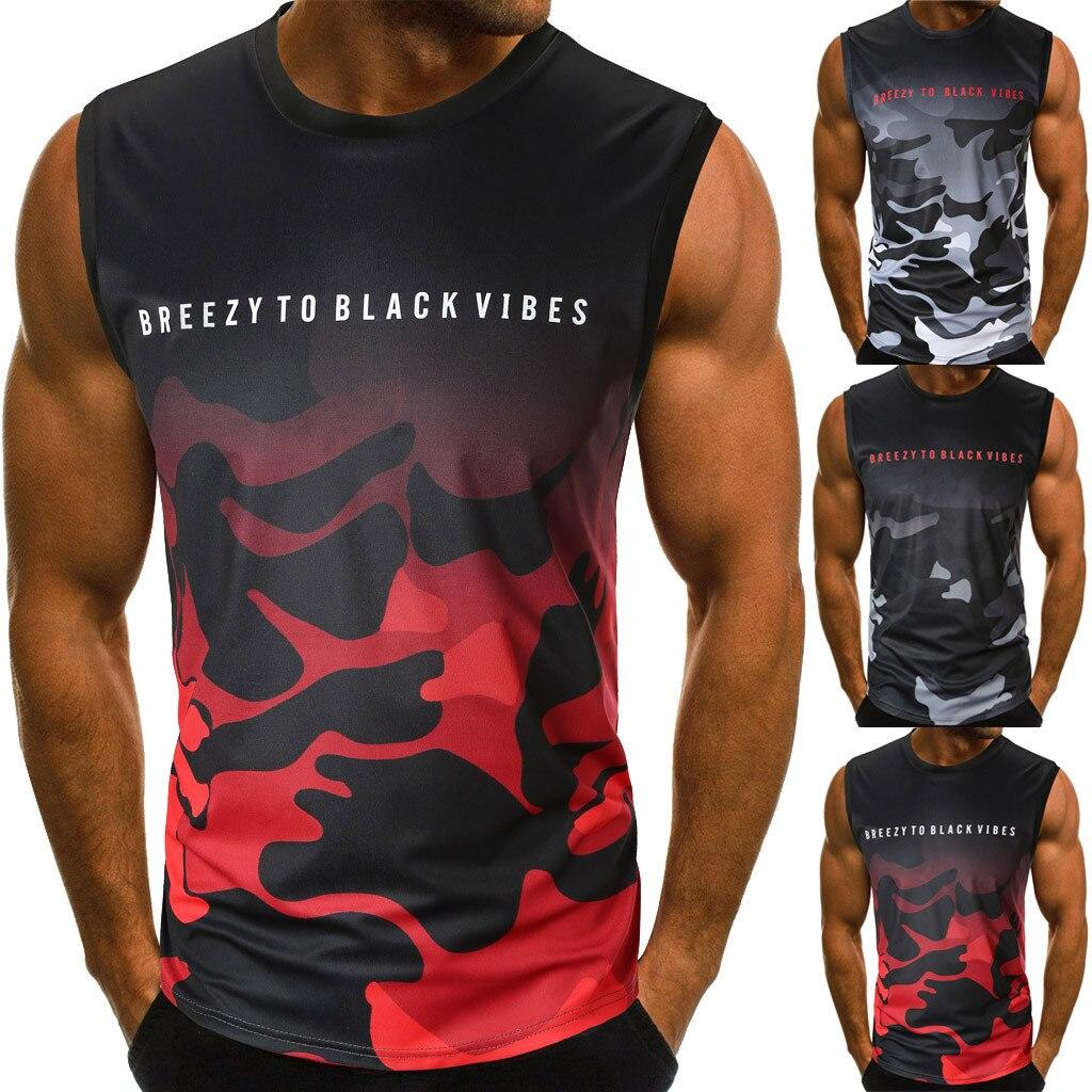 Men/'s Blue Flame Skull Black Sleeveless Vest Hoodie Workout Fitness Gym Biker