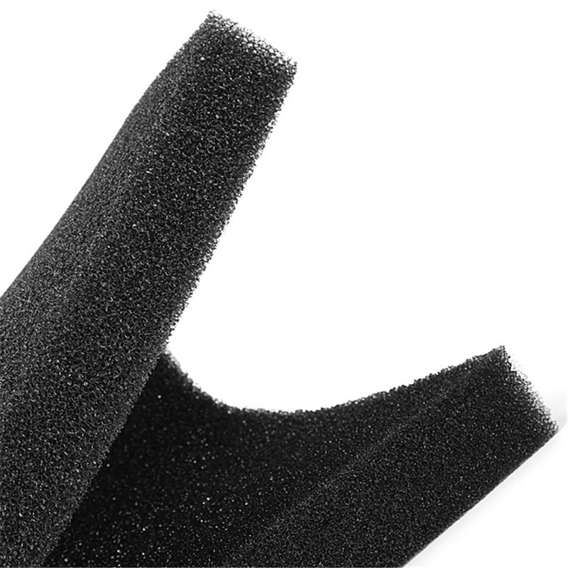 Hot Sale Black Aquarium Bio Filtration Foam Fish Tank Biochemical Filter Sponge Pad Light And Softness Design 50x50x2cm