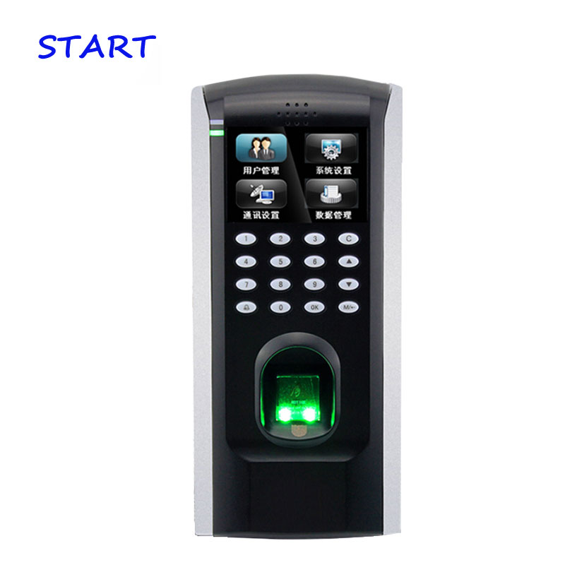 ZK Biometric Fingerprint Door Access Control TCP/IP Wiegand Output Fingerprint Door Security Controller ZK F7