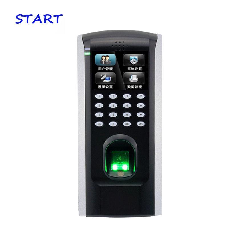 ZK Biometric Fingerprint Door Access Control TCP/IP Wiegand Output Fingerprint Door Security Controller ZK F7