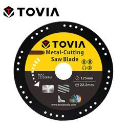 TOVIA BalckCutter 125*22мм Алмазный Диск по Металлу стали и нержавеющей стали для УШМ или Балкарки или угловой шлифовальной машины безопасный дизайн