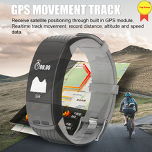 GPS Activity Fitness Tracker Smart Bracelet Pedometer GPS Sport Band Heart Rate Monitor Push Message Sleep Tracker Wristband men id107 plus hr gps smart bracelet heart rate monitor pedometer smartband bluetooth fitness band activity sports tracker wristband