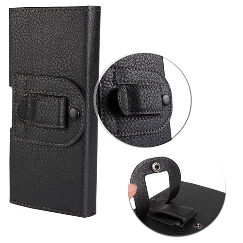 New Smooth Pattern/Lichee Pattern PU Leather Phone Belt Clip for Xiaomi M4 Cell Phone Accessories Pouch Bags Cases