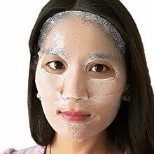 Гидрогелевая маска с маской для глаз 2 в 1 коллагеновый, для лица маска для ухода за кожей красота здоровье Новая маска для лица