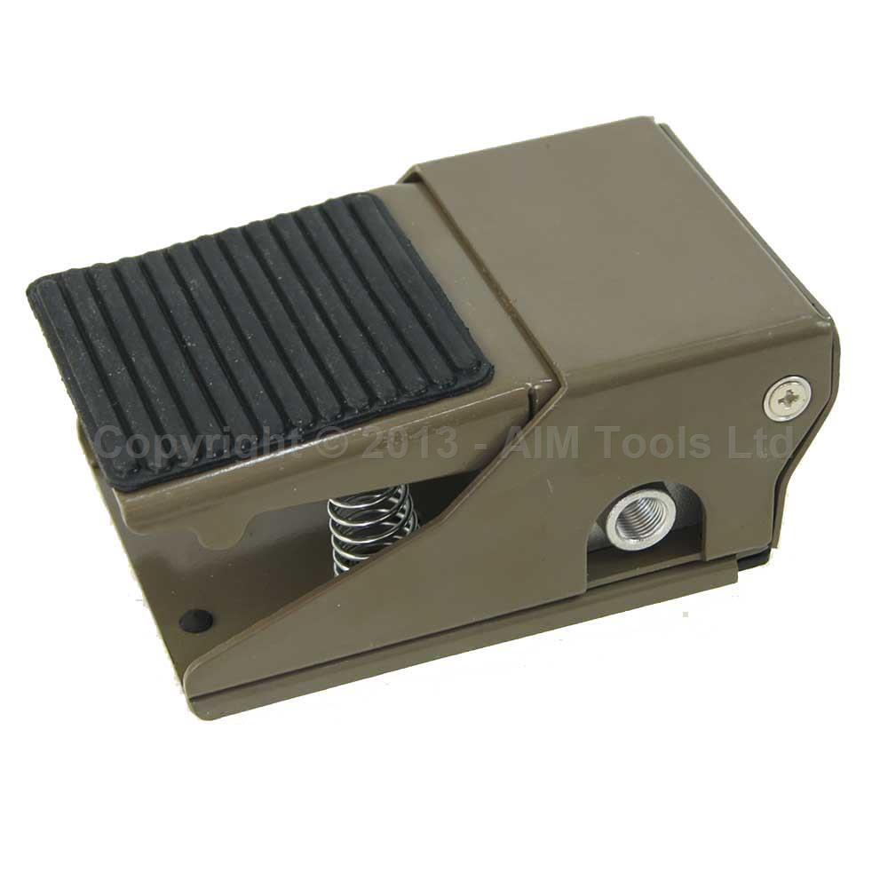 Foot Pedal Air Tools Pneumatic Machinery Control Switch 1 Inlet, 1 Oulet FA320-08A citizen bd0022 08a