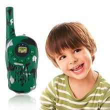 New Arrival ! 2Pcs Walkie Talkie Children Kids Electronic Toys Portable Two-Way Radio Set Wholesale 2016