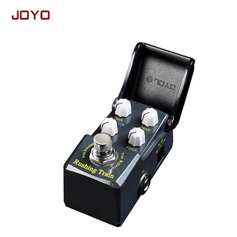 ФОТО JOYO IRONMAN Rush Train Amp simulator British tube distortion guitar effect pedal simulate vintage JCM800 true bypass free ship