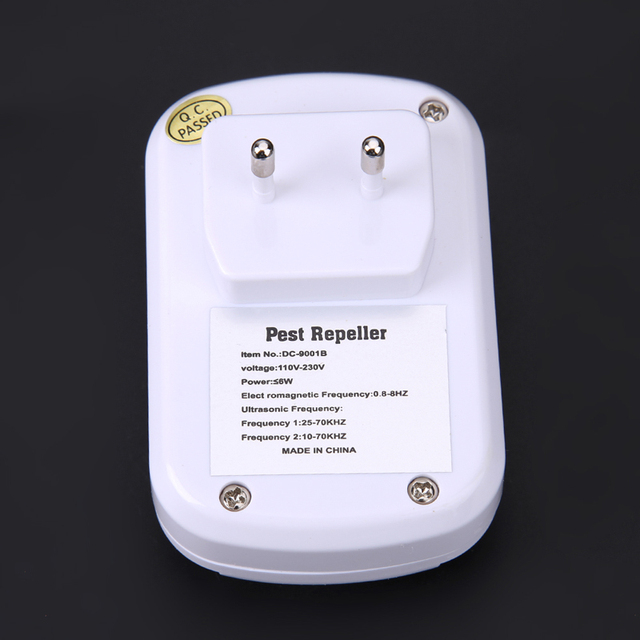 US/EU Plug Mouse traps Electronic Ultrasonic Anti Pest Mosquito Cockroach Mouse Killer Trap Repeller