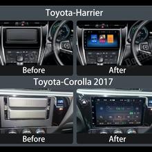 Stéréo Tête Unité Android 8.0 GPS pour Toyota Corolla 2017 Innova Estima 2 din Busards auto-radio navigation 4 gb + 32 gb PX5 8-Core
