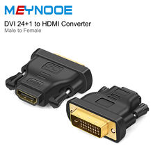 DVI 24+1 to HDMI Adapter Cable DVI to HDMI Switch DVI HDMI Extender Splitter Digital Audio Converter For HDTV Projector Monitor