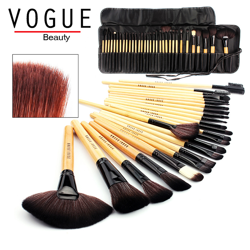 makeup brushes 24/32 PCS pincel de maquiagem make up brush set professional hair makeup brushes&Tools kit cosmetics beauty Bag makeup brush set 9pcs soft synthetic hair multifunction professional cosmetic make up brushes maquiagem brush tools for beauty