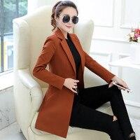 Small Suit Jacket Female Blazer Women Long Sleeve Plus Size Women Blazers Jackets Long Blaser Office Ladies Blazer Femme C4307
