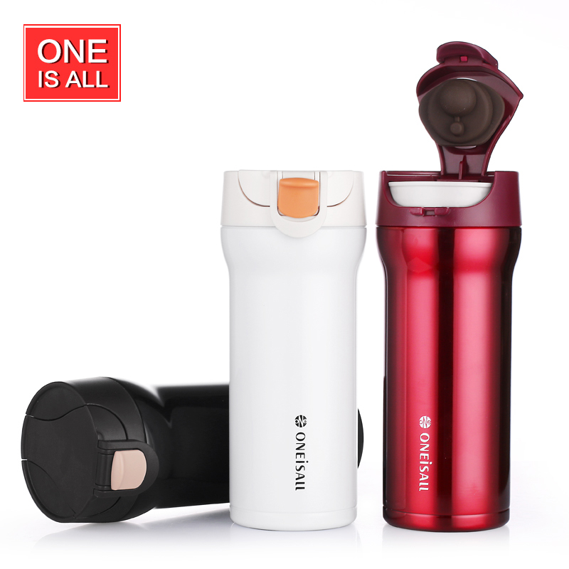 OneIsAll 350ml Thermo Mug Thermos Bottle Travel Coffee Cup ...