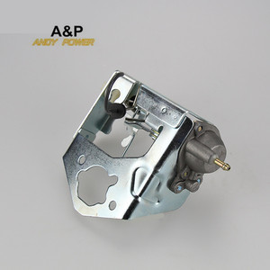 Image 1 - 5kw 6.5KW  generator Auto carburetor choke valve governing pump,188F GX390/GX420 auto choke valve regulating pump damper bracket
