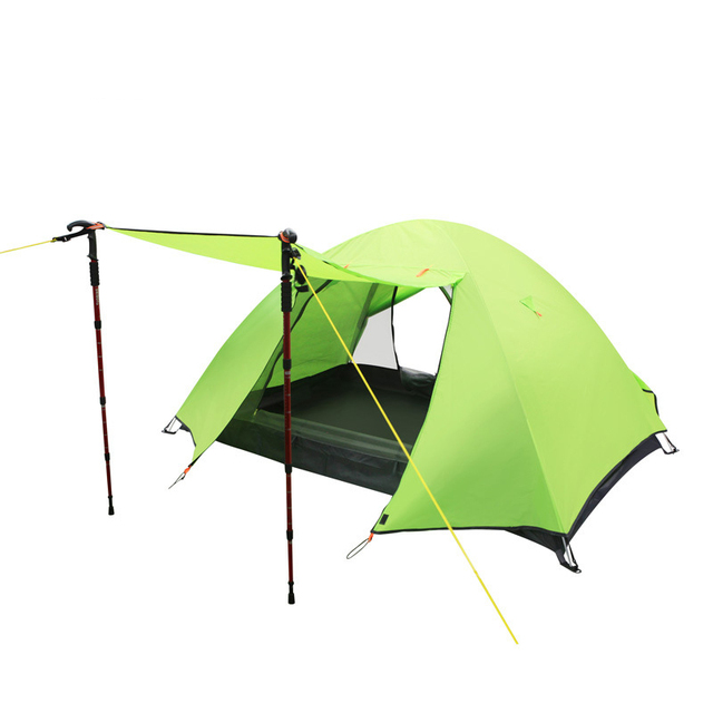 2 People Outdoor Lightweight beach Tent Double Layer Fishing Awning Waterproof Hiking Travel Portable C&ing Equipment  sc 1 st  AliExpress.com & 2 People Outdoor Lightweight beach Tent Double Layer Fishing ...