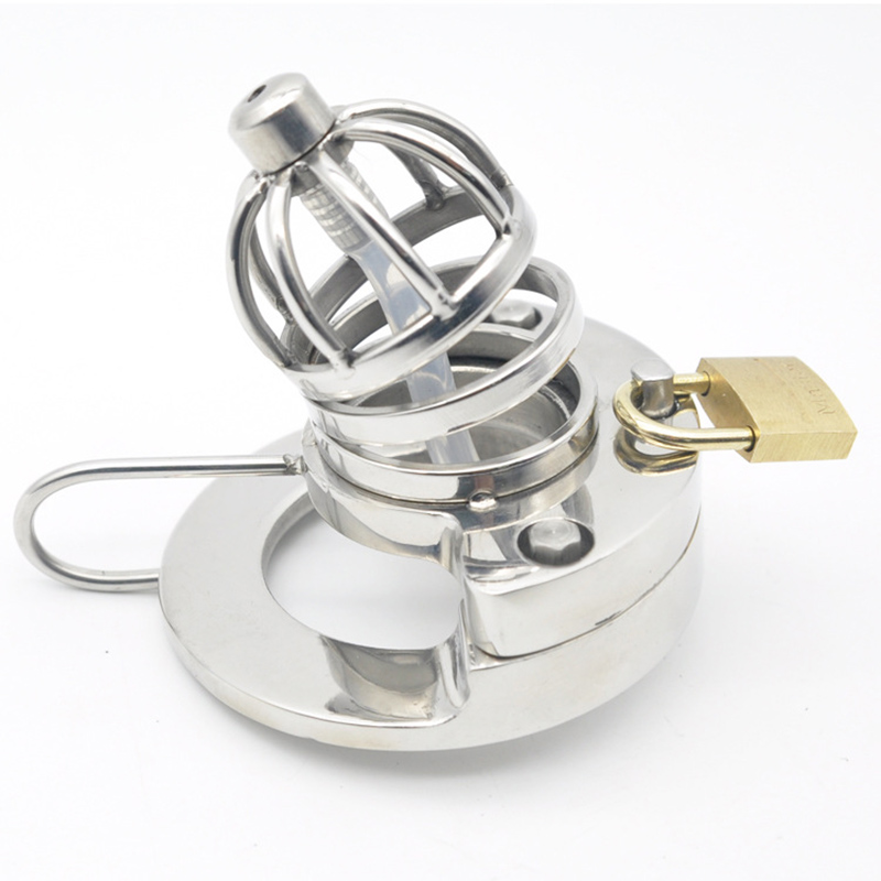 CPWD Male Chastity Device AND Urethral Sound Catheter Cock Cage Virginity Lock Penis Cock Ring sex toys Product For MenCPWD Male Chastity Device AND Urethral Sound Catheter Cock Cage Virginity Lock Penis Cock Ring sex toys Product For Men