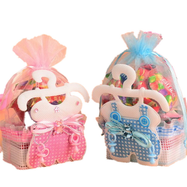 Cfen As Baby Shower Favor Bags Gifts Candy Box Children Skirt Candy