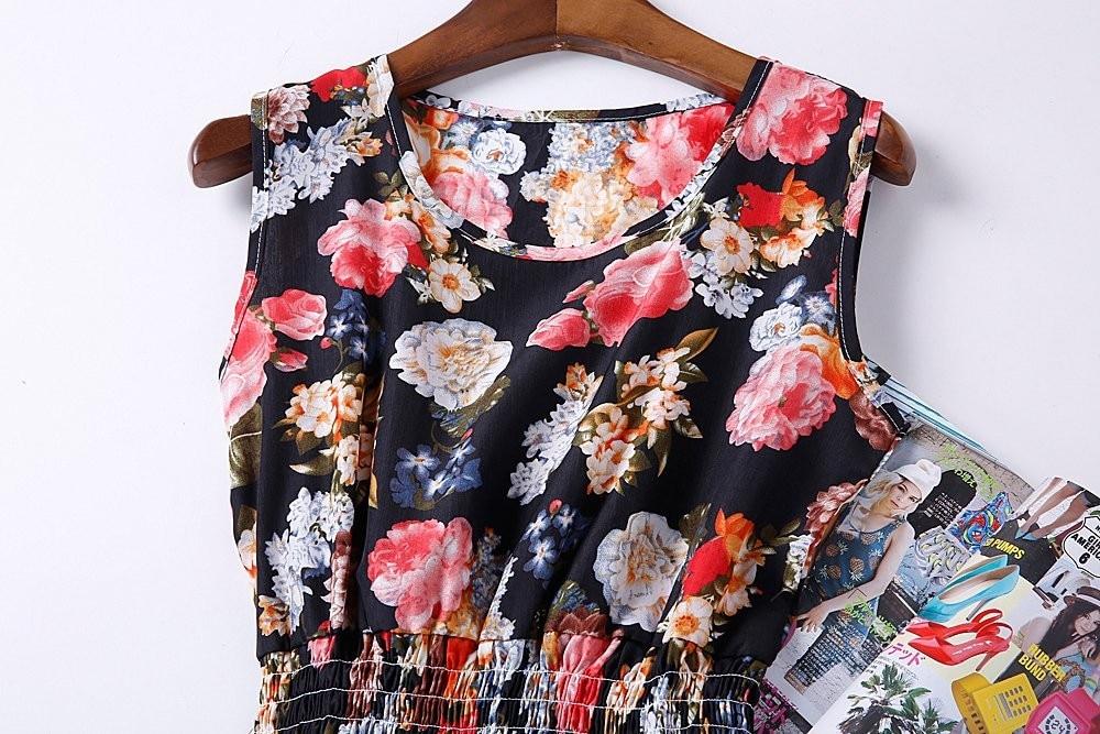 HTB1PDDVHFXXXXa2aXXXq6xXFXXXW - Summer Women Dress Vestidos Print Casual Low Price