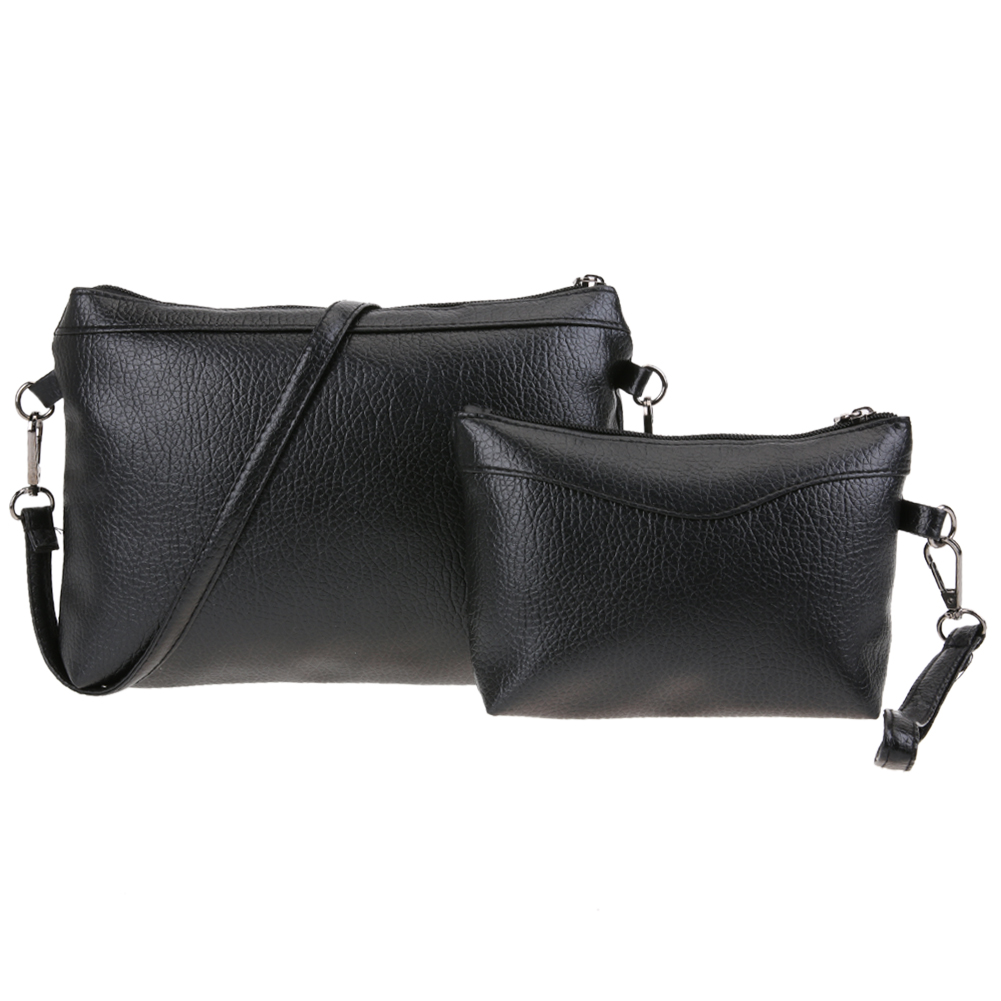 2pcs/set Women Leather Handbag Composite Bags Female Shoulder Crossbody Bag Fashion Designer Women Messenger Bags Bolsa Feminina fashion floral print women bag crossbody women messenger bags pu leather handbag purse sling shoulder bags bolsa feminina