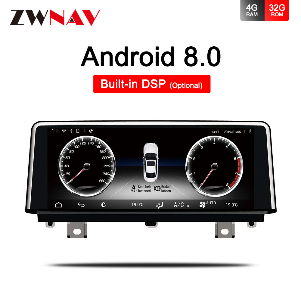 4+32G IPS screen For <font><b>BMW</b></font> 3 4 Series <font><b>F30</b></font> F31 F32 F33 F34 F35 F36 <font><b>Android</b></font> 8.0 Car Multimedia Navigation Radio stereo with GPS WiFi image