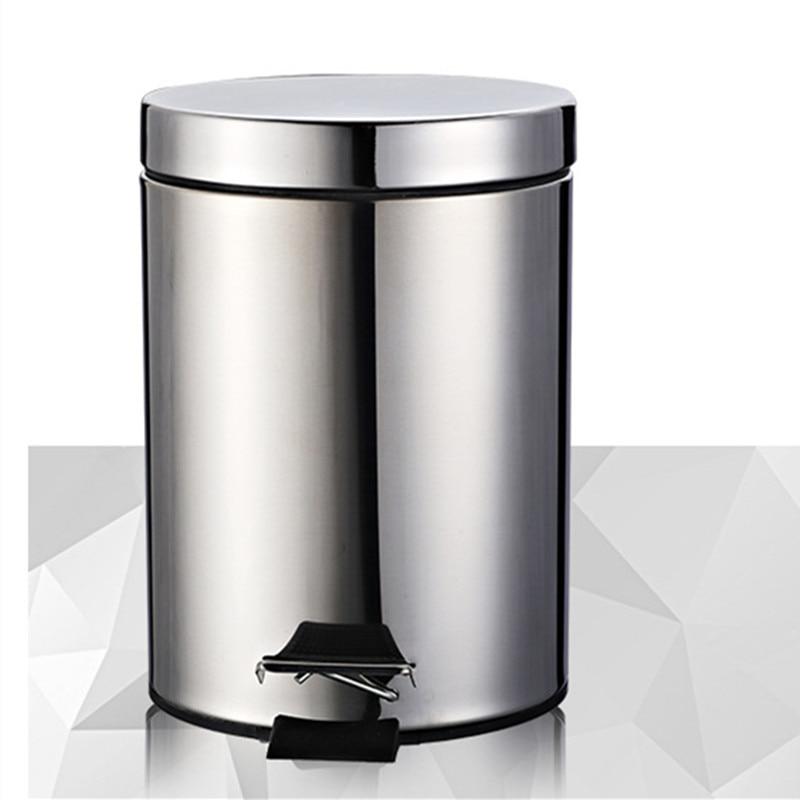 Badkamer wc 3/5/7L rvs vuilnisbak Mini vuilnisbak kleine keuken ...