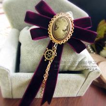 New Free Shipping fashion casual Men's male female High-grade female suede handmade sweater brooch tassel accessories on sale