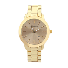 Men Round Shell Quartz Watch Net Steel Strip Round Dial Quartz Watch with black/golden/silver/rose color New Hot Selling