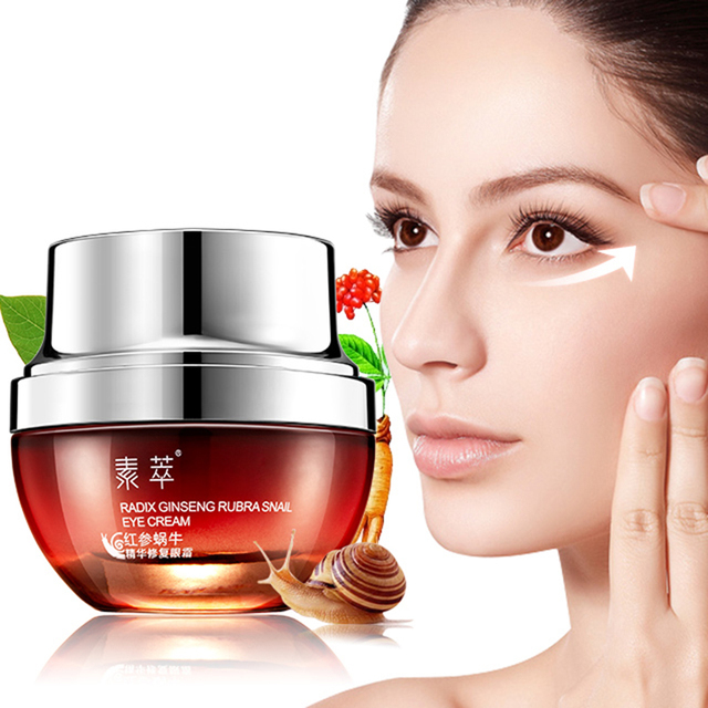 SOON PURE Red Ginseng Snail Eye Cream 20g+ Snail Face Cream 50g Acne Treatment Ageless Moisturizing Whitening Face Anti Wrinkle