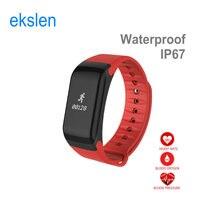 ekslen F1 Oxygen Measure Smart Bracelet Blood Pressure Smartwatch Heart Rate Wristband Android IOS Smart Watch Sport Watch