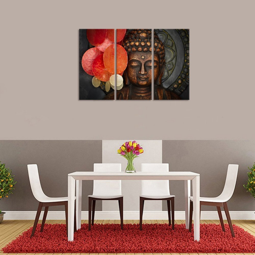 Visual Art Decor Buddha Canvas Wall Art Zen Canvas Prints Buddha ...