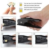 Sim Cards Cutters High Quality Universal 3 In 1 SIM Micro Nano SIM Card Cutter For