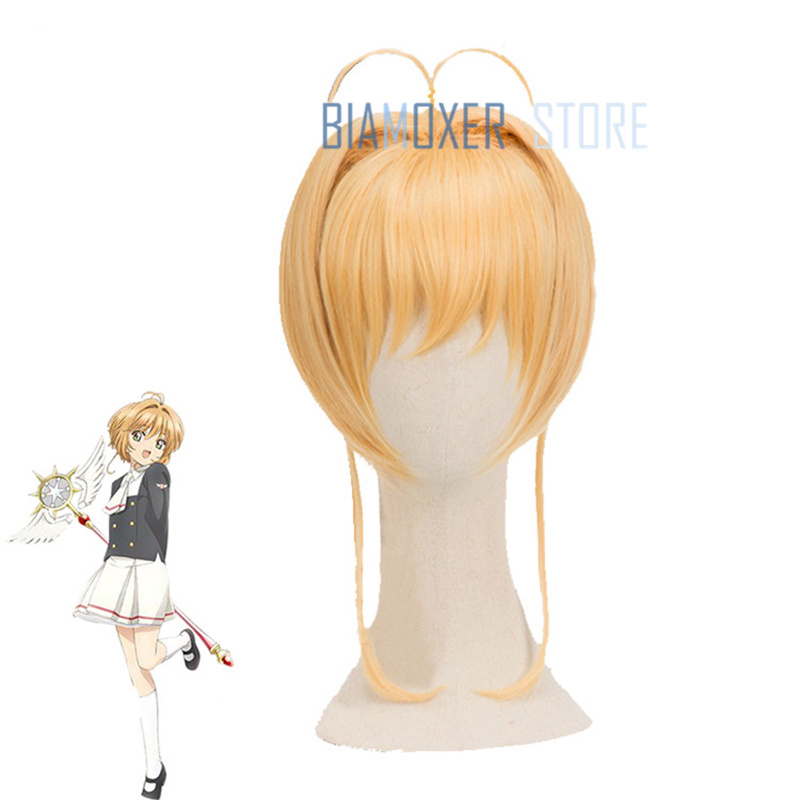 Card Captor Sakura CLEAR CARD Touya Kinomoto Cosplay Hair Wig Anime New
